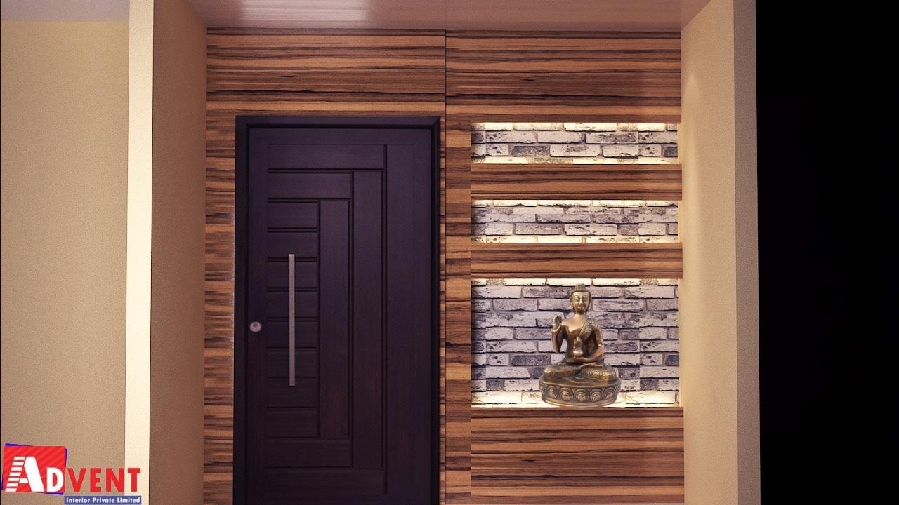 Hallway With Wooden Work by Ratnadeep Mallick Modern   Interior Design Photos & Ideas