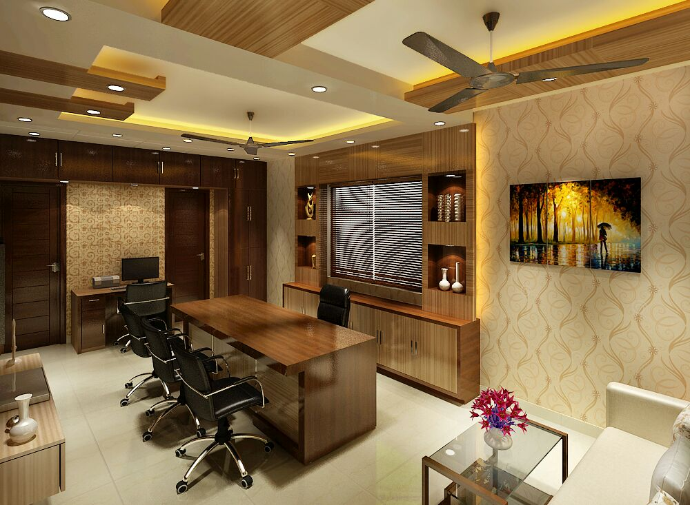 Home Office by Jaideep Mandal Open-spaces Modern | Interior Design Photos & Ideas