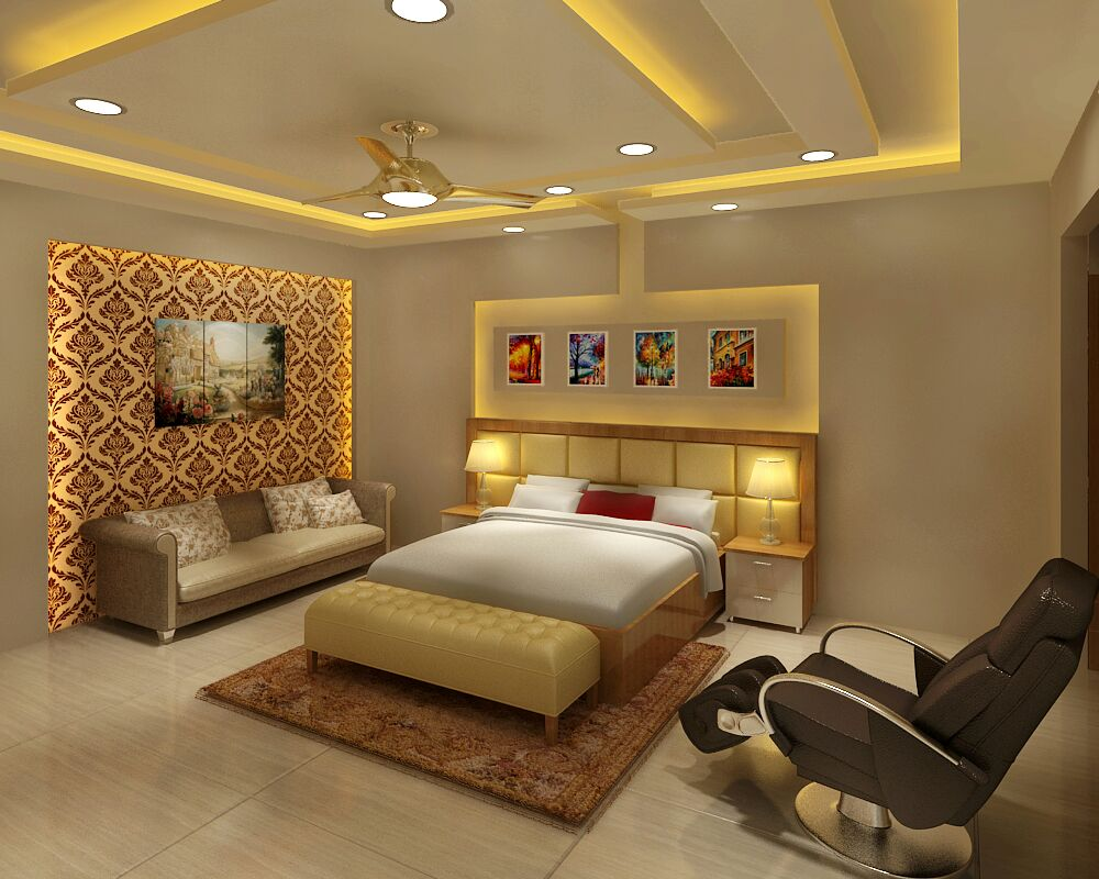 Master Bedroom by Jaideep Mandal Bedroom Contemporary | Interior Design Photos & Ideas