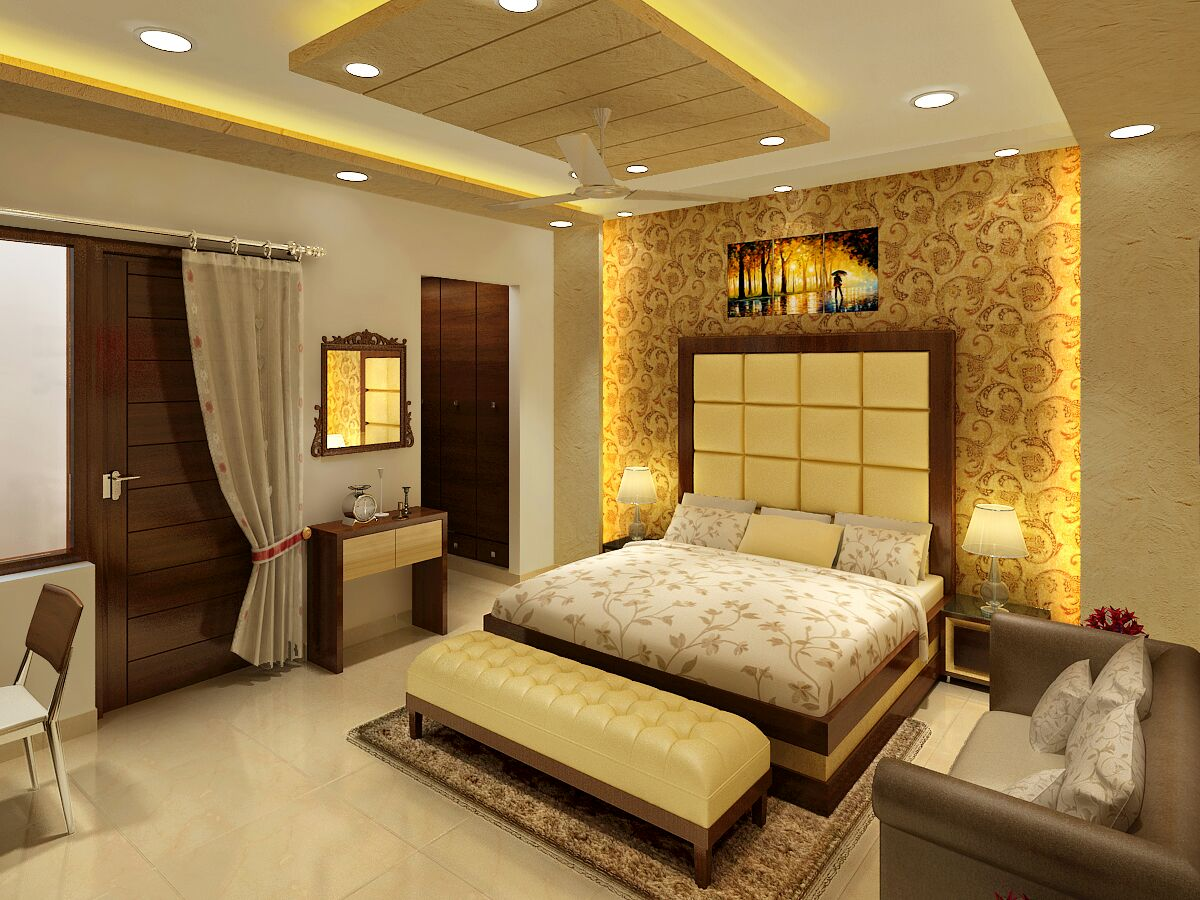 Master Bedroom by Jaideep Mandal Contemporary | Interior Design Photos & Ideas