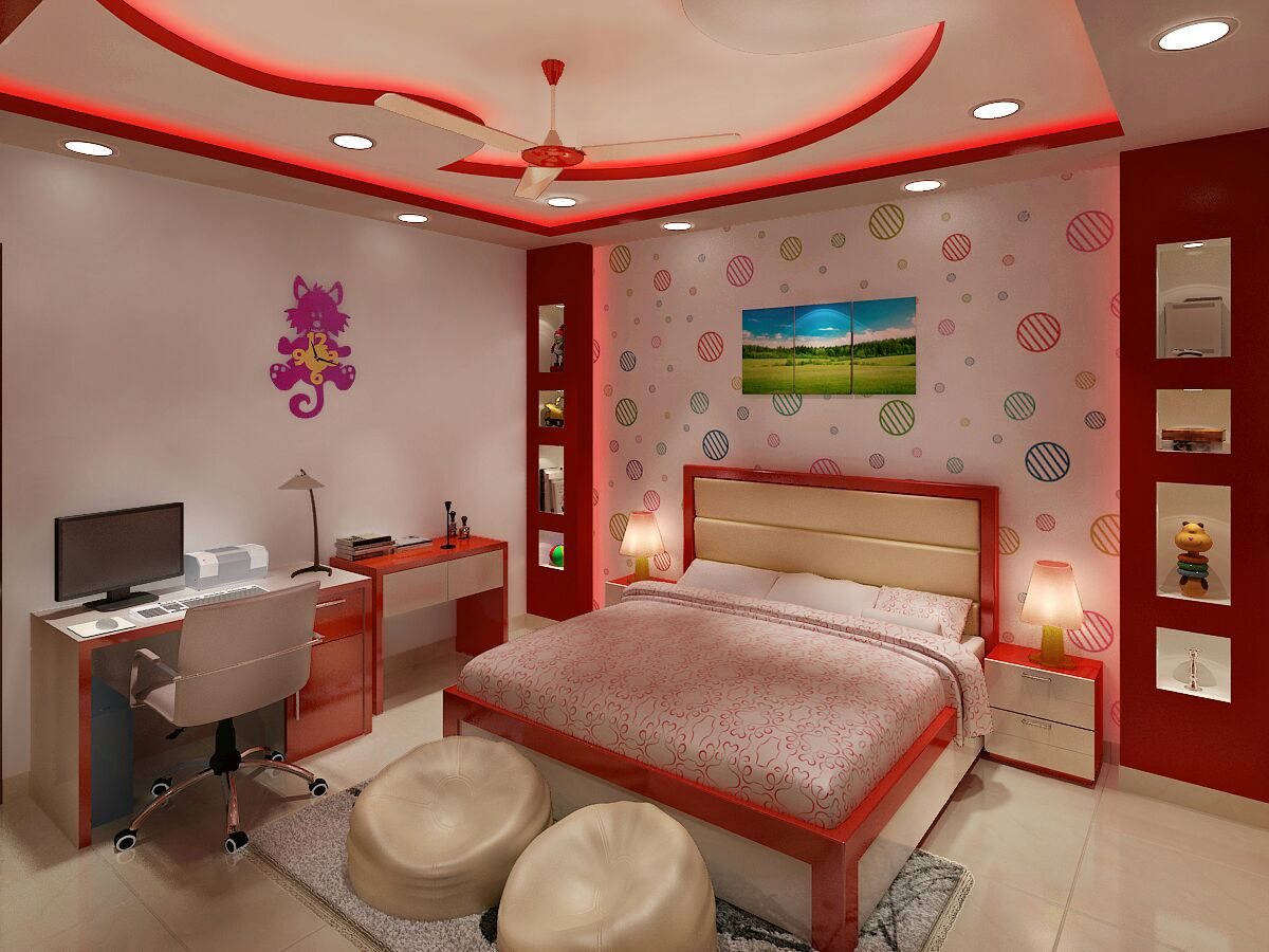 Kids Room 2 by Jaideep Mandal Modern | Interior Design Photos & Ideas
