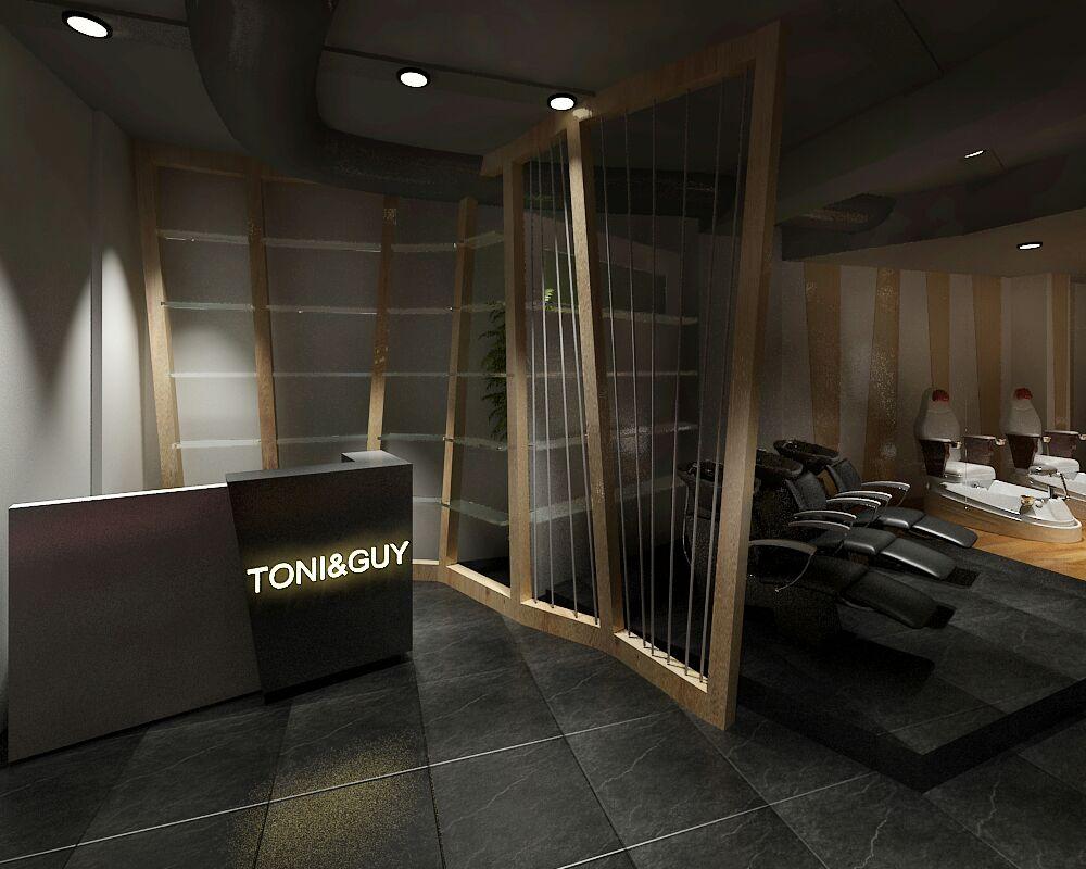 The reception & entry by Jaideep Mandal Modern | Interior Design Photos & Ideas