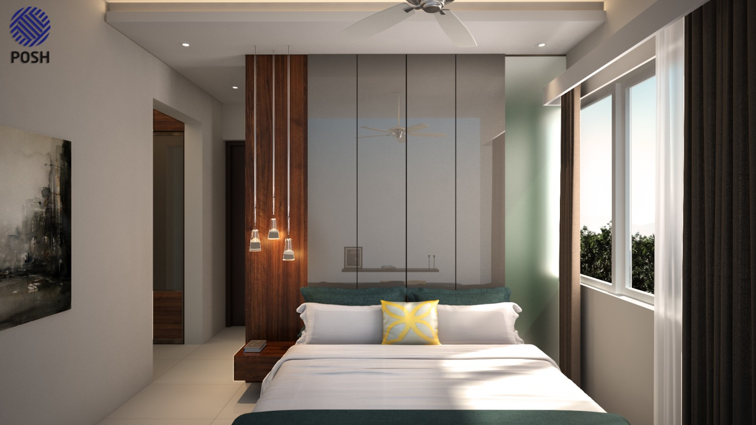 Contemporary bedroom by Priyanka Rai Bedroom Contemporary | Interior Design Photos & Ideas