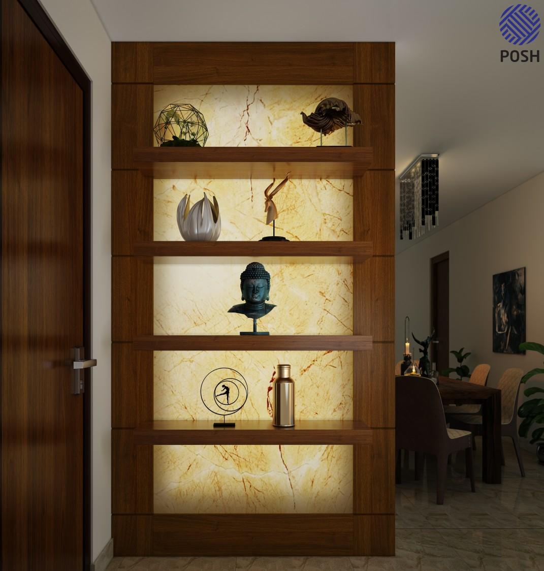 Contemporary display set by Priyanka Rai Living-room Contemporary | Interior Design Photos & Ideas
