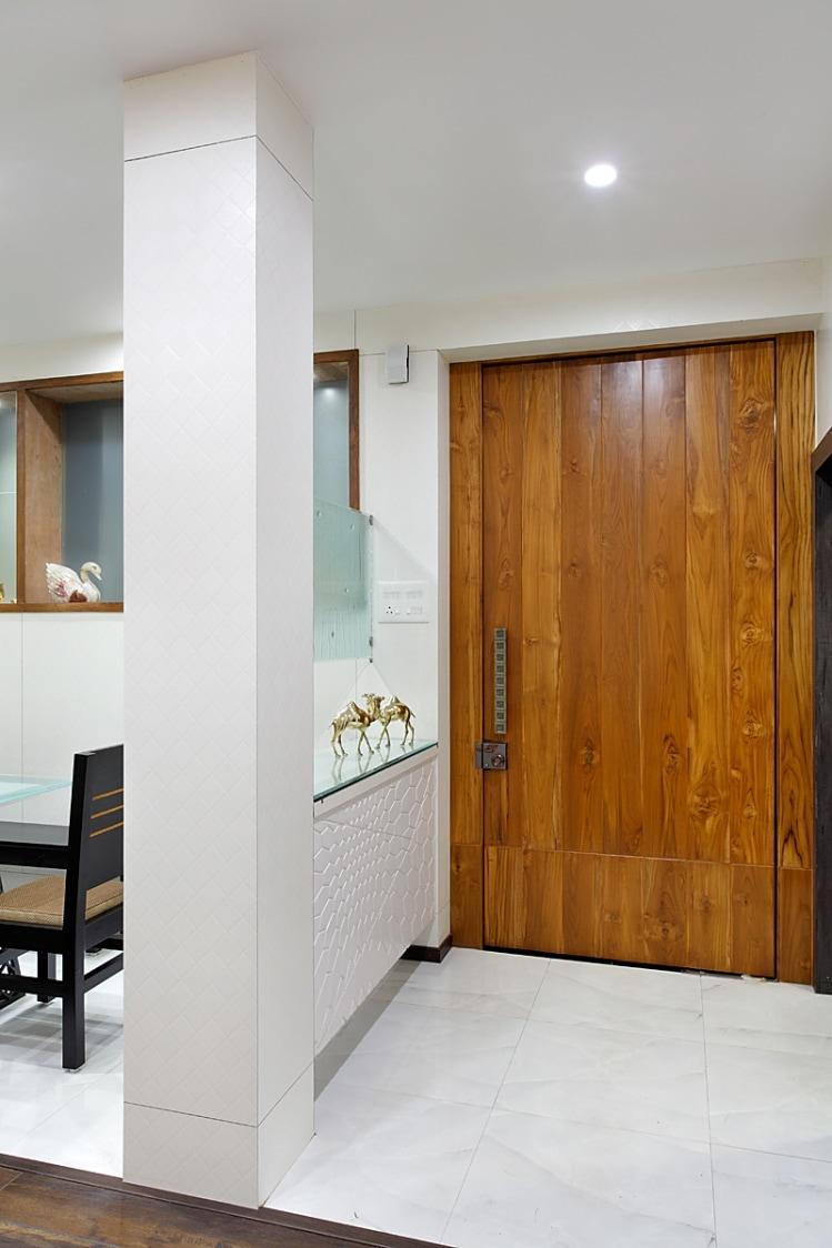 Hallway With Pale Shade Interior by Prashant Ghosh Indoor-spaces Modern   Interior Design Photos & Ideas