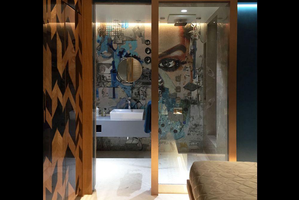 Artistic Washroom by Gocosy.com