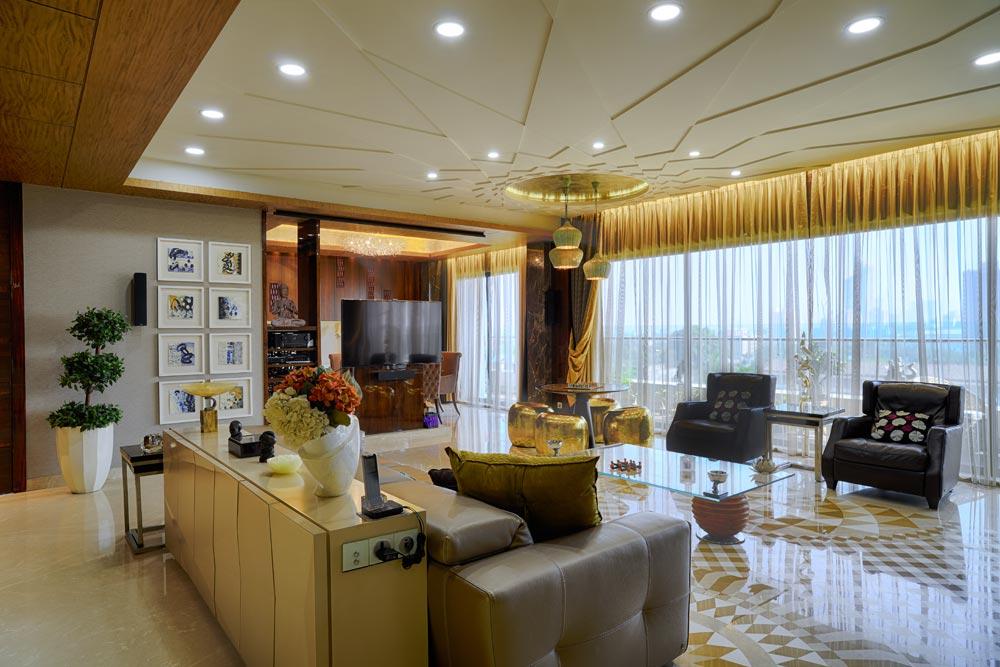 The Golden Paradise by Gocosy.com Contemporary | Interior Design Photos & Ideas