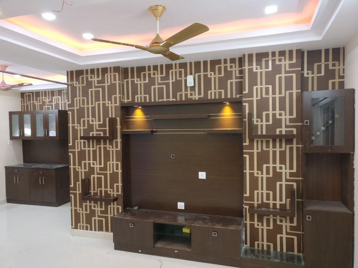 Brown patterns by Smita Contemporary | Interior Design Photos & Ideas