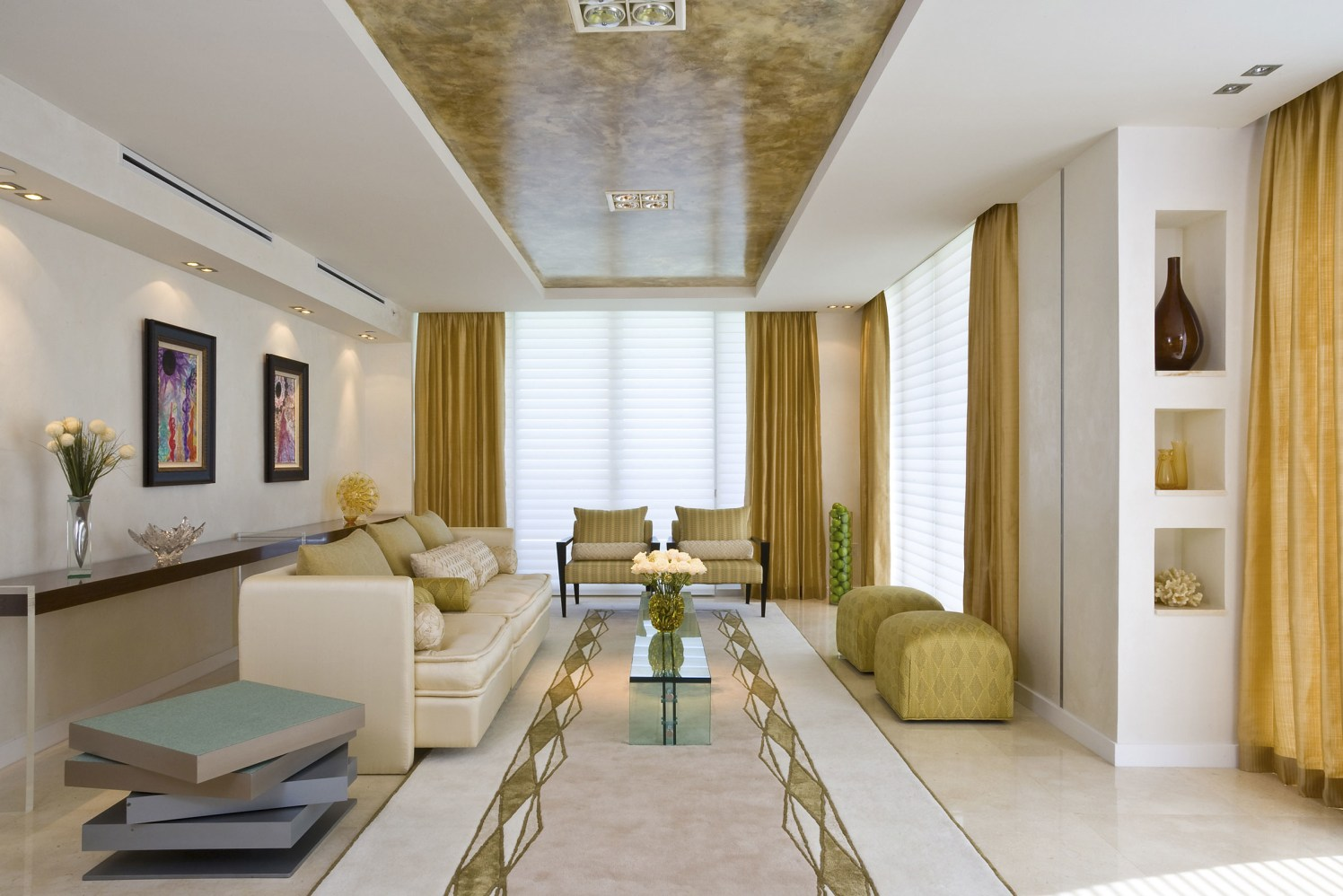 Golden glory by Priya Shah(test) Modern | Interior Design Photos & Ideas