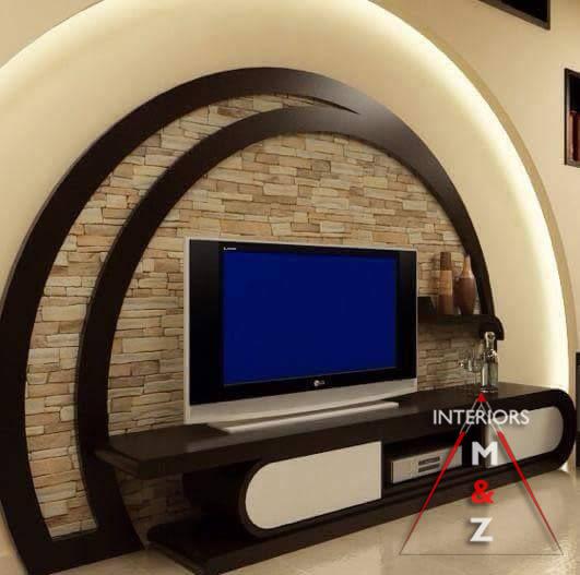 Dreamy TV unit by Zubairul Haque