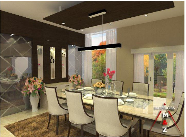 Luxurious dining by Zubairul Haque Contemporary | Interior Design Photos & Ideas