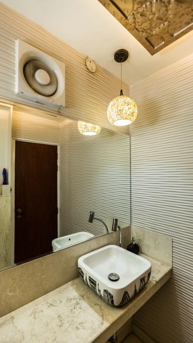 A simple Bathroom by Swati Jain