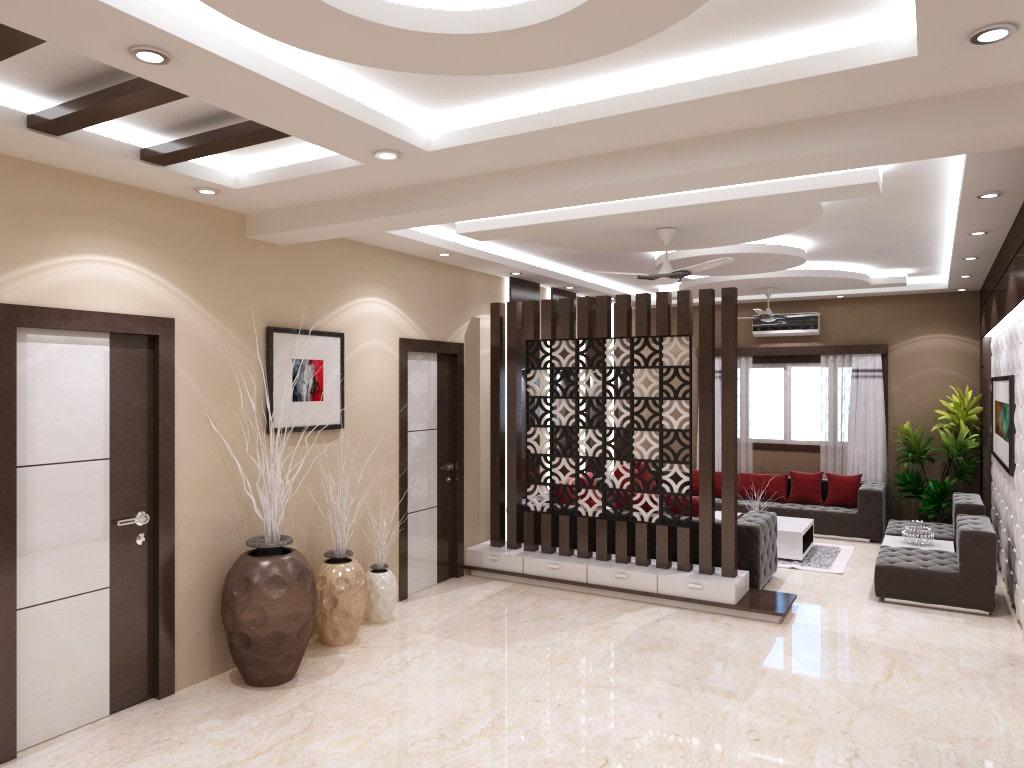Hallway With Pottery by Mehak Seth Indoor-spaces | Interior Design Photos & Ideas