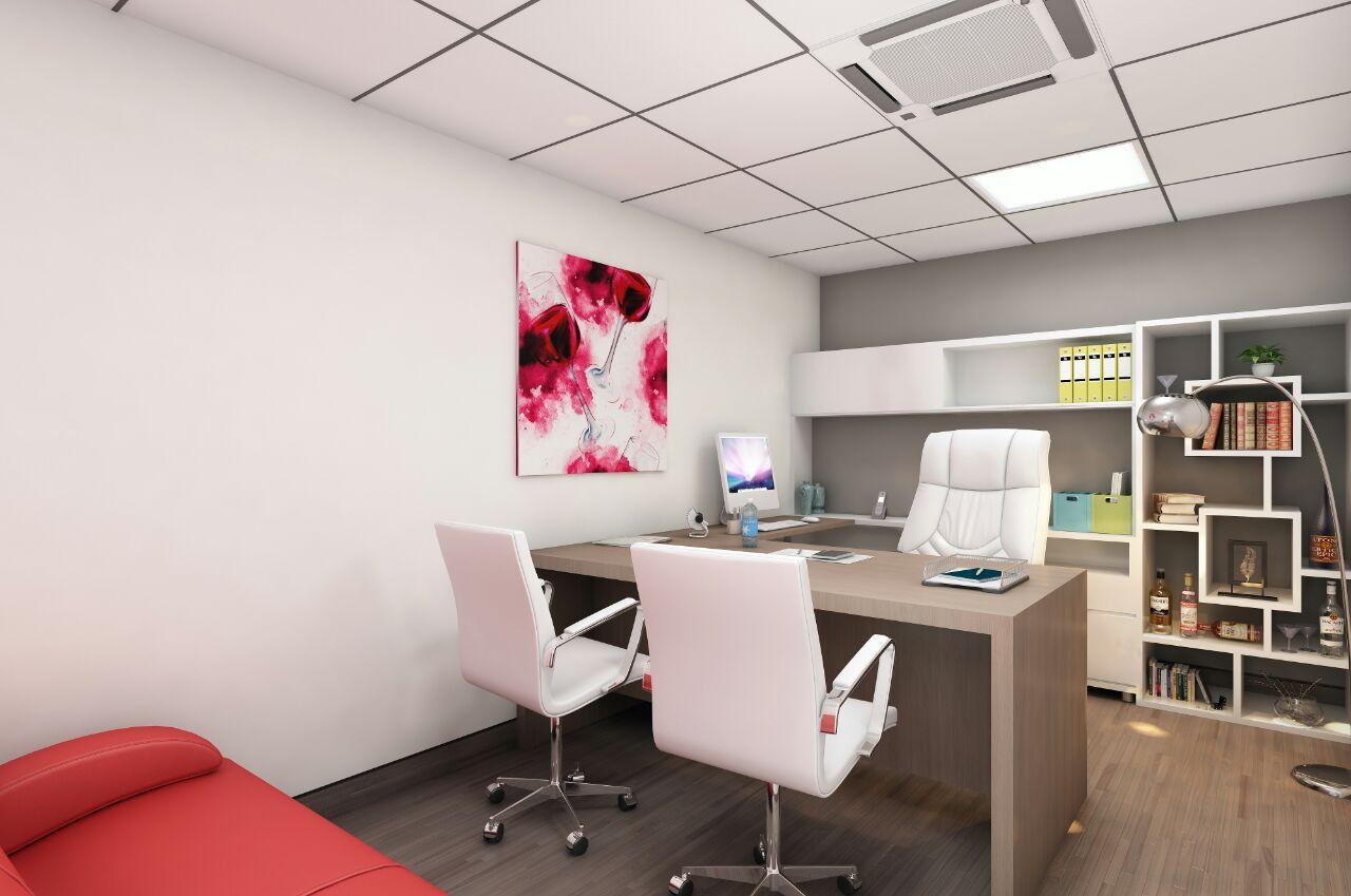 Modern day office room by Nirav Shah Contemporary | Interior Design Photos & Ideas