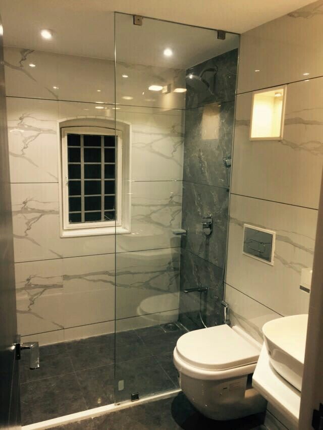 state of the art bathroom by Nirav Shah Modern   Interior Design Photos & Ideas
