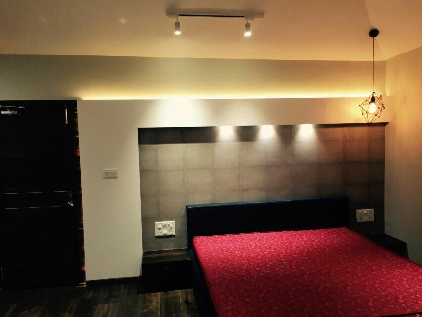 Bedroom by Nirav Shah Contemporary | Interior Design Photos & Ideas