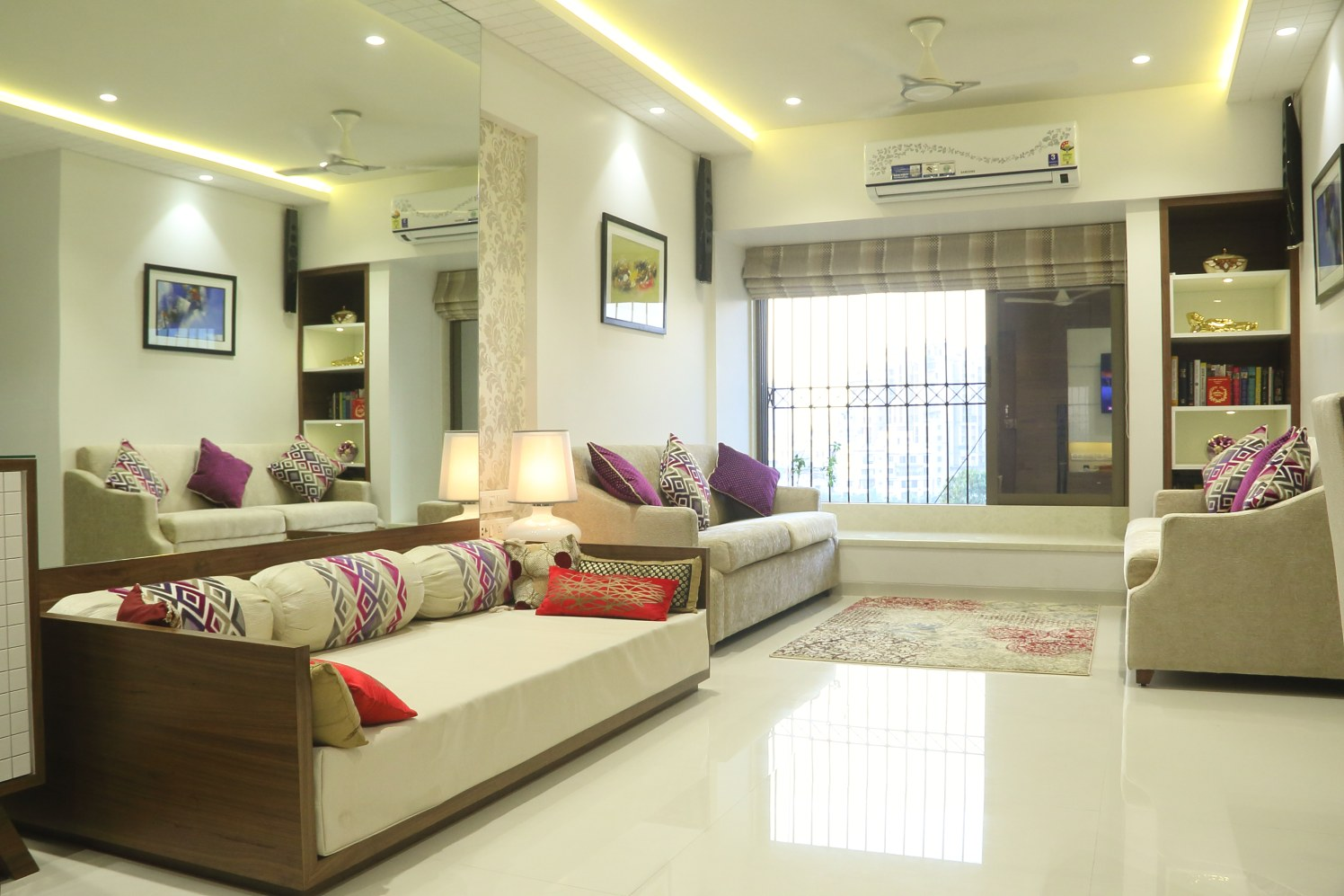 modular living room by Hitesh Kacha Modern   Interior Design Photos & Ideas