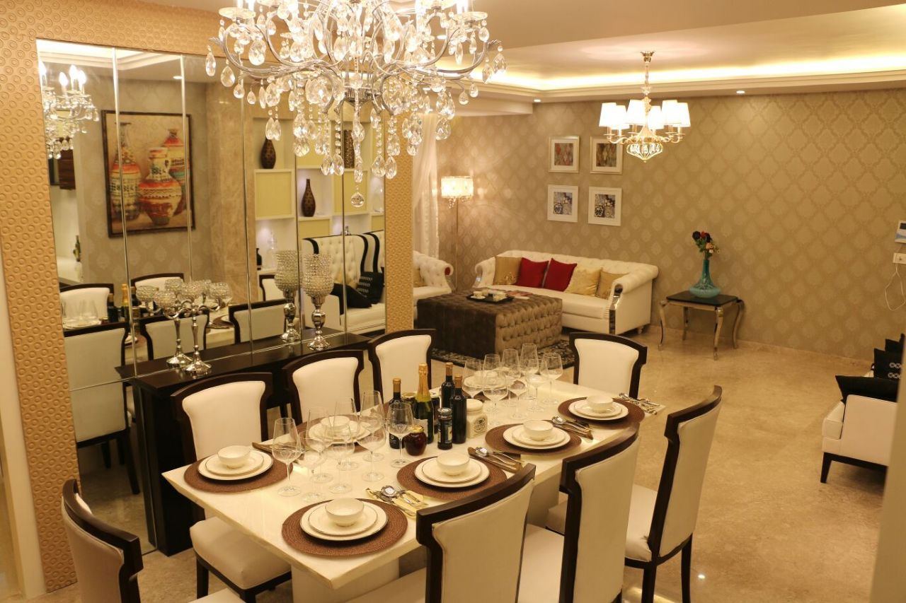Royal Dining by Rehan Khan Modern | Interior Design Photos & Ideas
