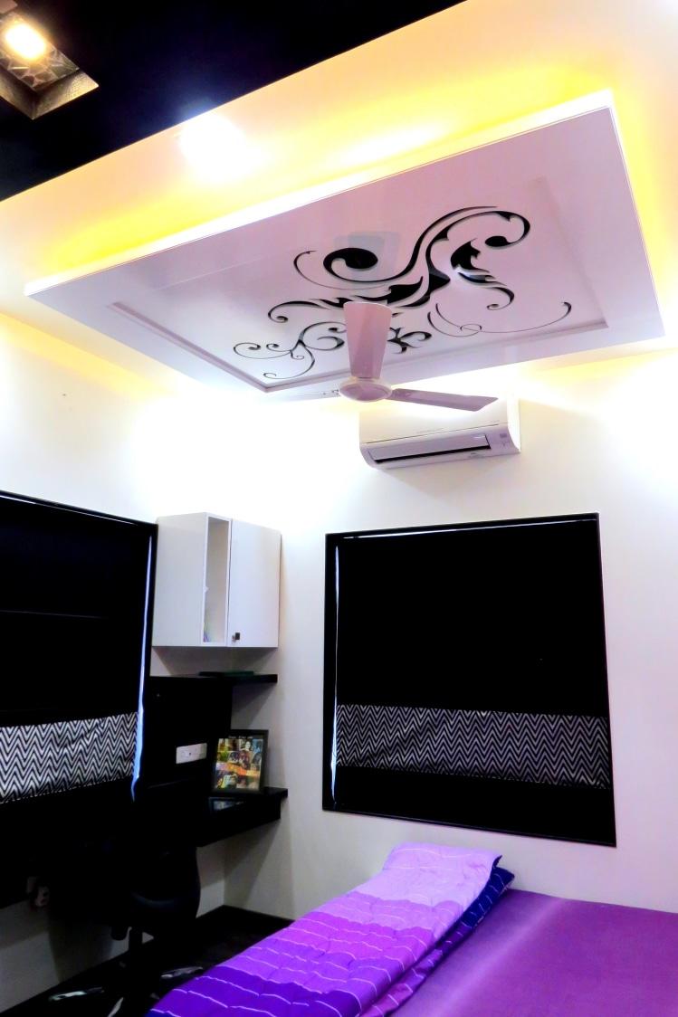 The Ceiling worth staring at by Harshila Shreeram Talasila Modern | Interior Design Photos & Ideas