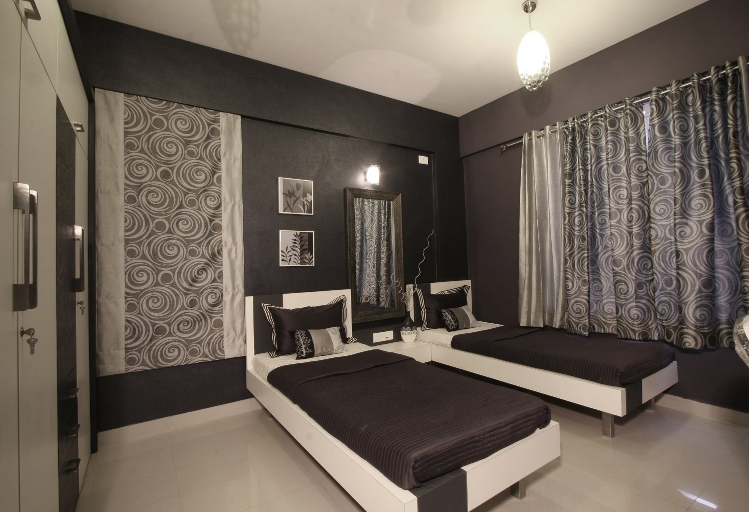 Black by Harshila Shreeram Talasila Modern | Interior Design Photos & Ideas