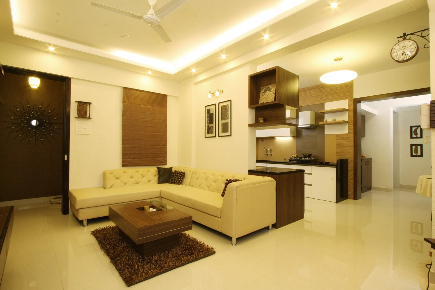 Standard Living by Harshila Shreeram Talasila Modern | Interior Design Photos & Ideas