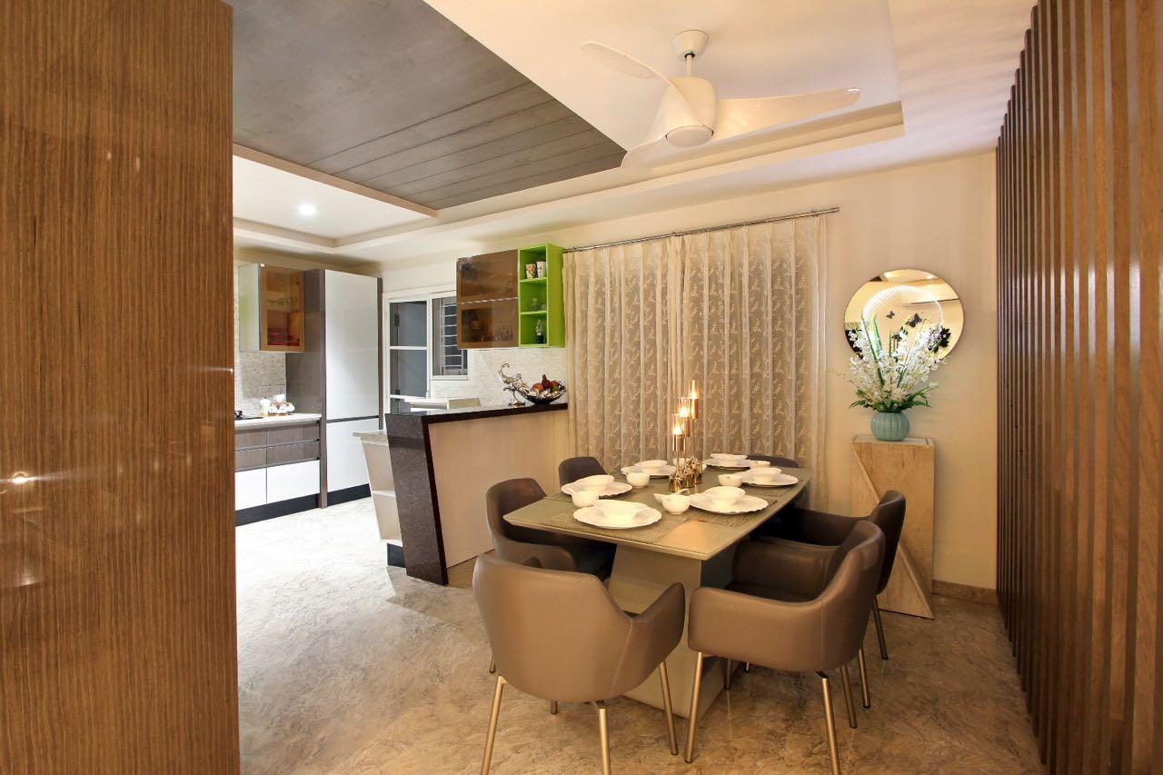 Fine Dine by Monica K. Modern | Interior Design Photos & Ideas