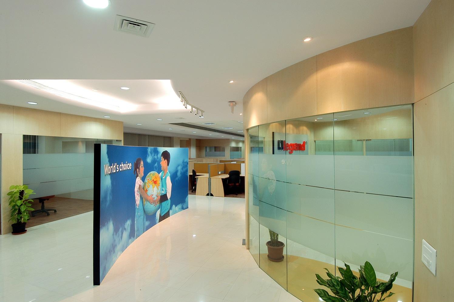 Office Entrance by Amin Sha Modern | Interior Design Photos & Ideas