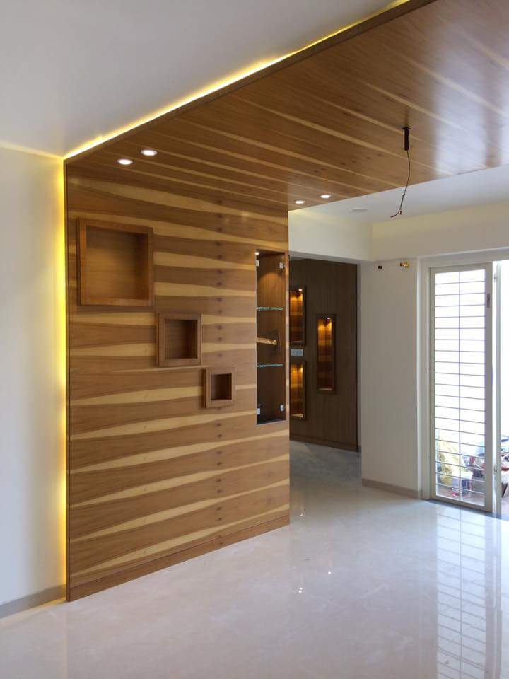 Caramel filled Chocolate Room by Sakshi Pallod Modern | Interior Design Photos & Ideas