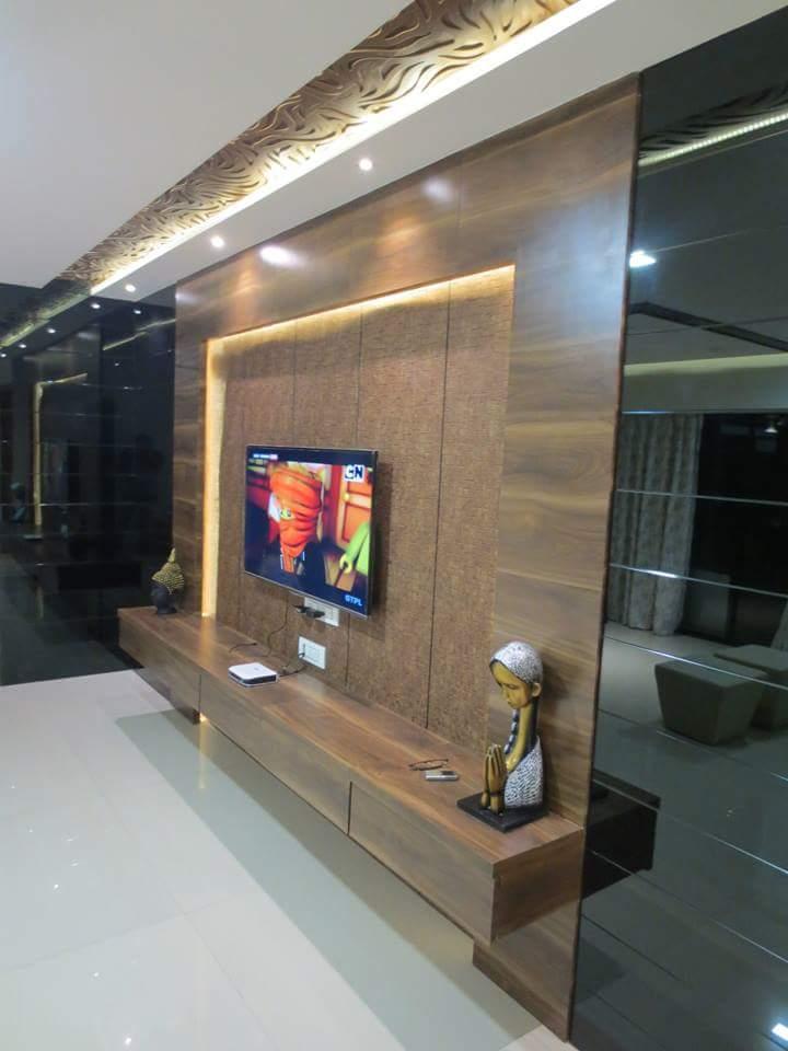 The Modern Bedroom by Sakshi Pallod Modern | Interior Design Photos & Ideas