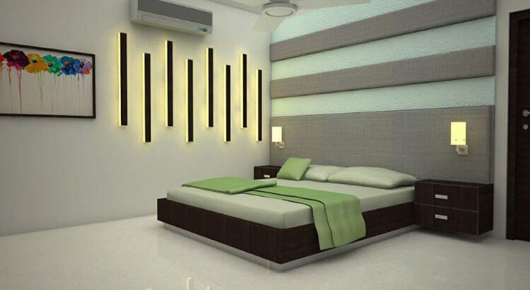Artistic bedroom by Ar. Nitin Sharma Contemporary | Interior Design Photos & Ideas