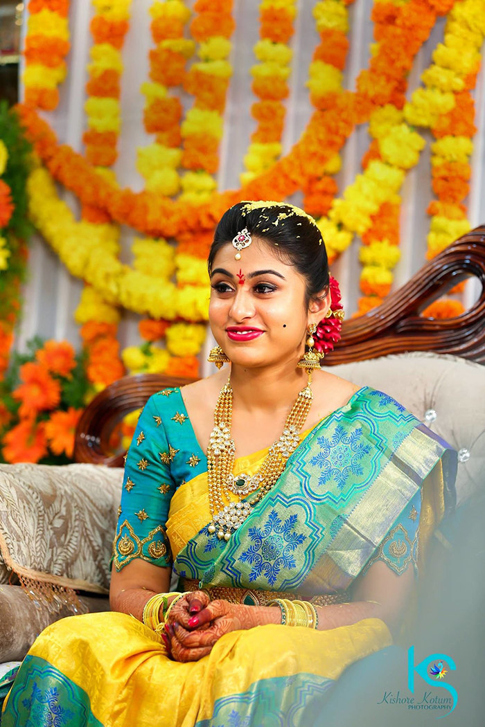 Bride On Her Wedding day by Kishore Kotum Wedding-photography | Weddings Photos & Ideas