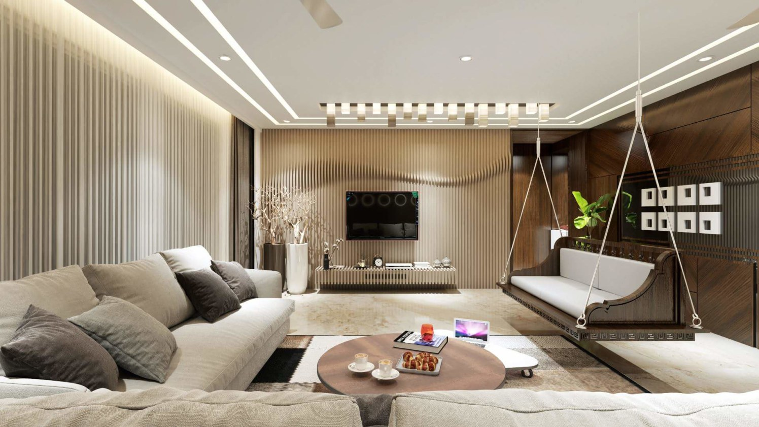 Relax and chill by Bhramesh Shinde Contemporary | Interior Design Photos & Ideas