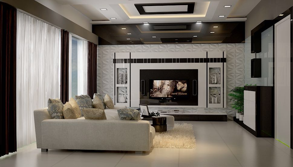 Black and White Decor by Itzin World Designs Contemporary | Interior Design Photos & Ideas