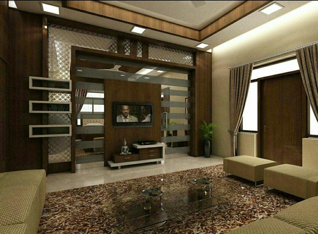 Living Decor Delight by Rohit Hande Modern | Interior Design Photos & Ideas