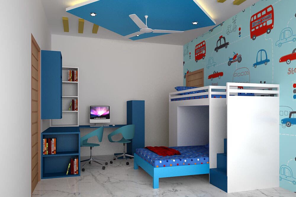 Kids Room by Gauri Karnani Modern | Interior Design Photos & Ideas