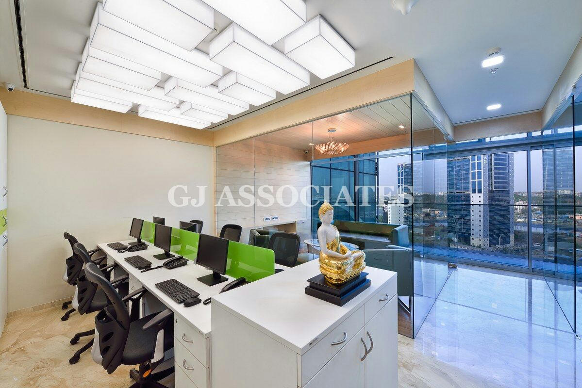 Modern office space by Gaurang Jawle Modern | Interior Design Photos & Ideas