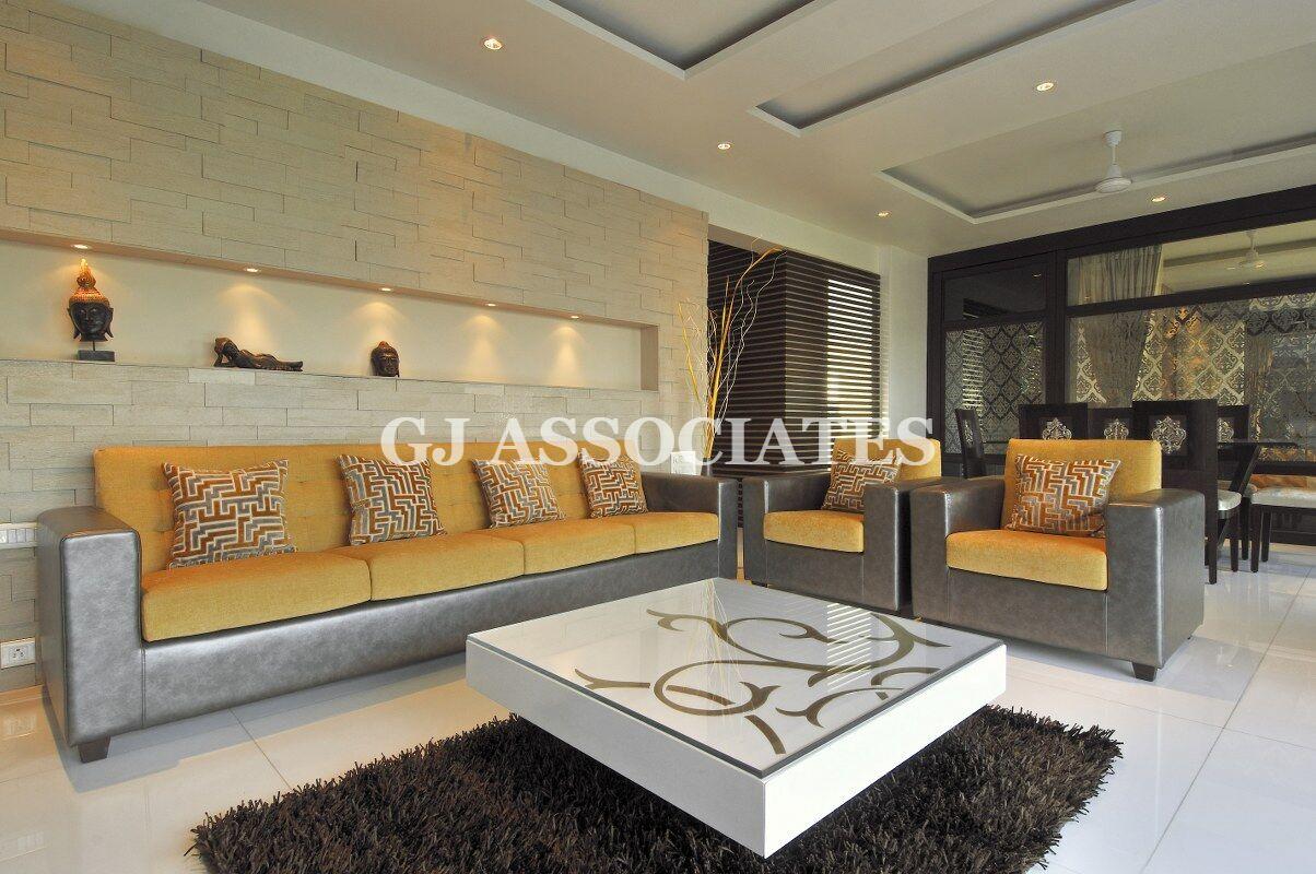 Orange Glaze by Gaurang Jawle Contemporary | Interior Design Photos & Ideas