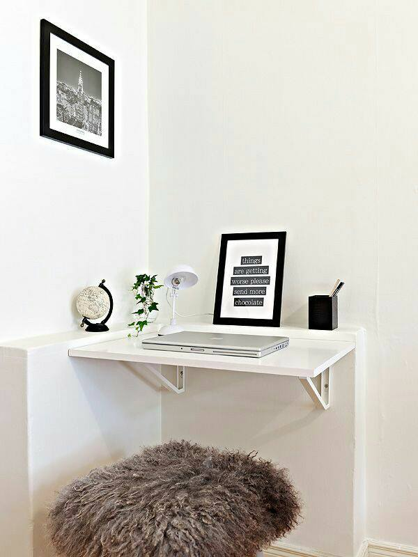 Electric White Working Table With Settee by Live Fabulous Indoor-spaces Modern | Interior Design Photos & Ideas