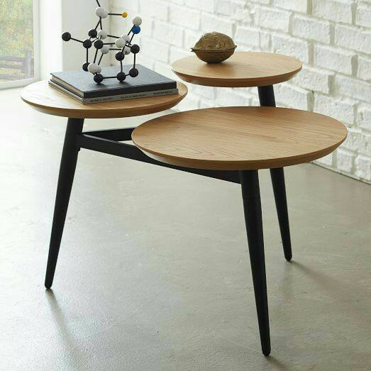 Wooden Accent Tables by Live Fabulous Living-room Modern | Interior Design Photos & Ideas