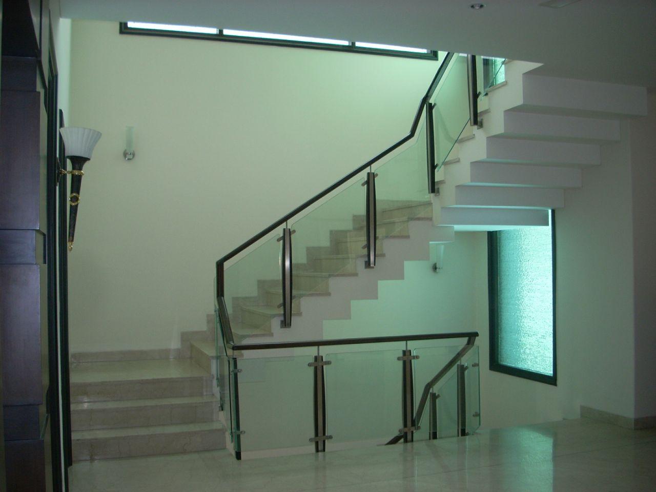 White Themed Staircase Decor by Madhu Kailashi Indoor-spaces Modern   Interior Design Photos & Ideas
