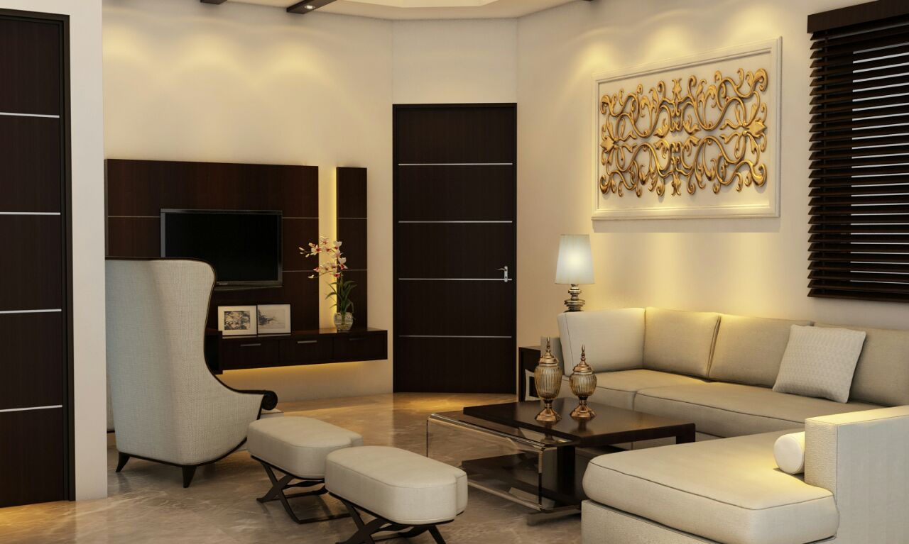 Beautiful Living room by Shweta Gulashan Sharma Modern | Interior Design Photos & Ideas