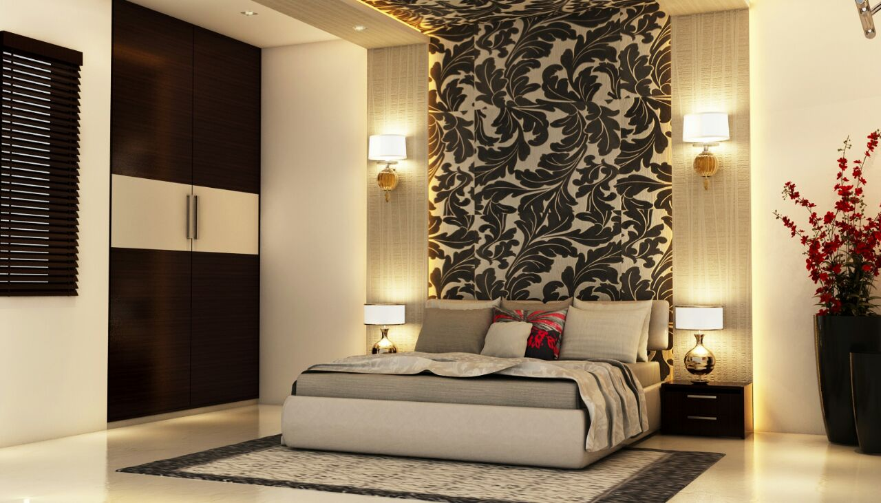 Classy Master Bedroom by Shweta Gulashan Sharma Modern | Interior Design Photos & Ideas