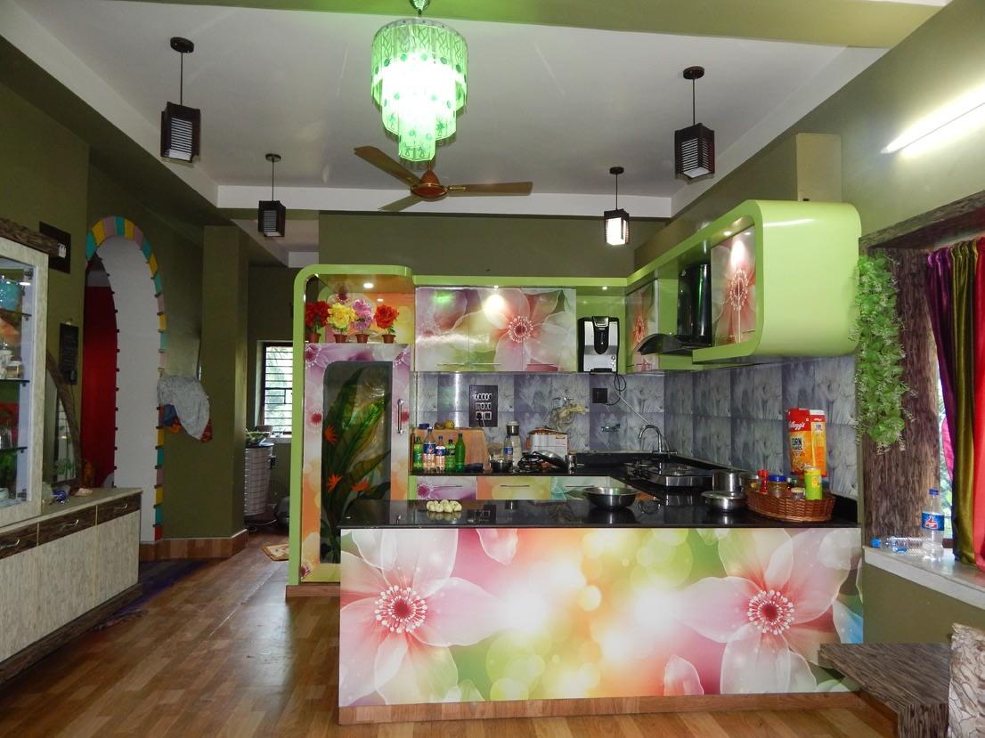 KitchenLife by Manik Chowdhury Modular-kitchen Contemporary | Interior Design Photos & Ideas