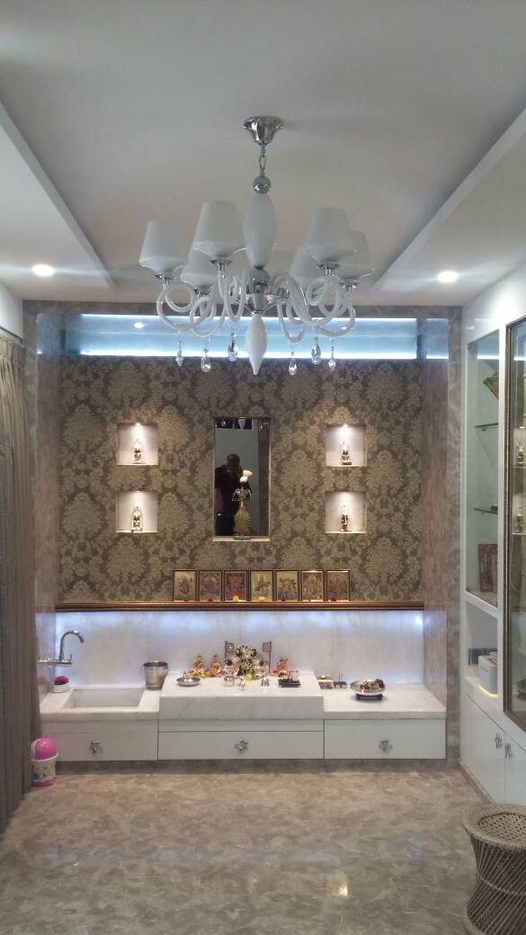 Salon by Akshay Sharma Modern | Interior Design Photos & Ideas