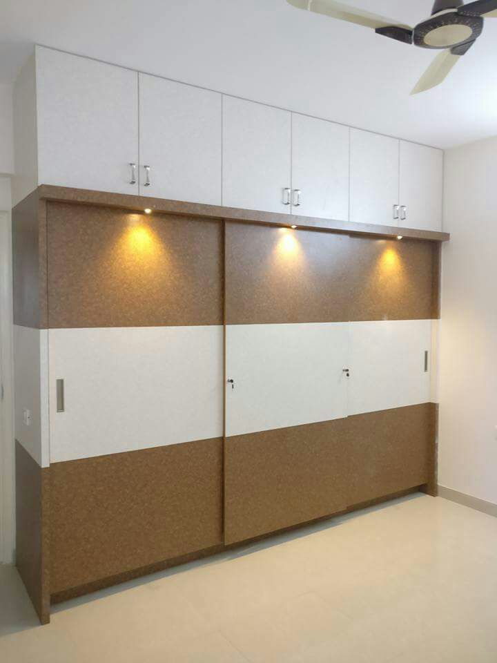 Modern Bedroom Closet by Kishore Modern | Interior Design Photos & Ideas