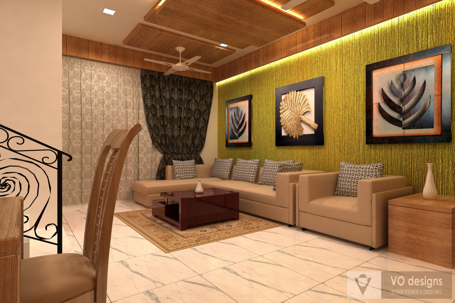 Scintillating Ambience by Narayan Suthar Modern | Interior Design Photos & Ideas