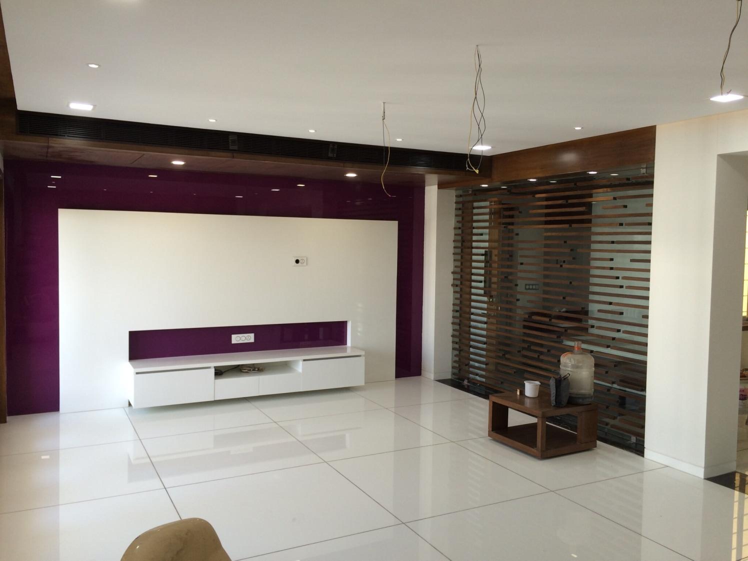 Sleek Fininsh by Vatsal Hadvani Living-room Minimalistic | Interior Design Photos & Ideas
