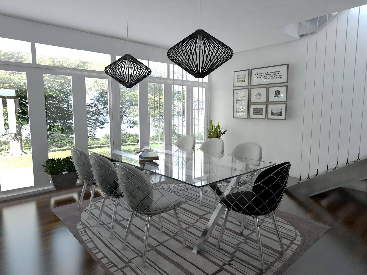 Black & White by hardik vartak Contemporary | Interior Design Photos & Ideas