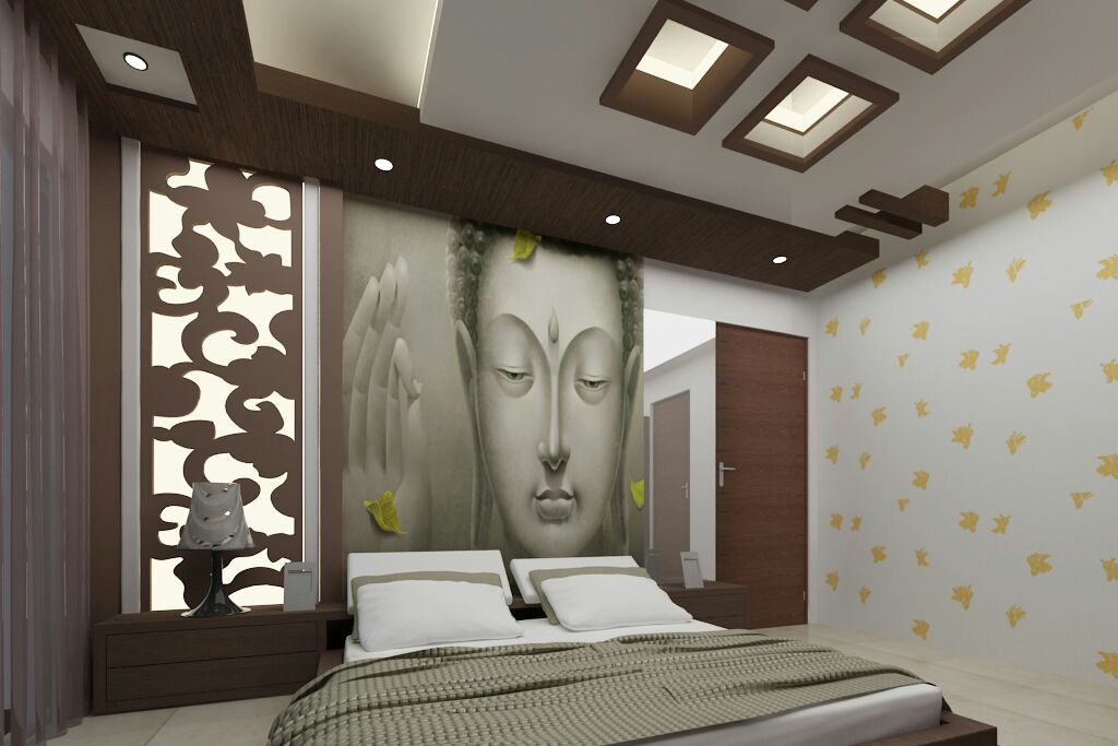 Peaceful living by Siddhesh Satav Contemporary | Interior Design Photos & Ideas