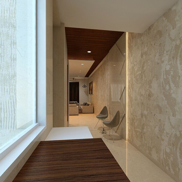 Hallway to heaven by Siddhesh N. Sawant Modern | Interior Design Photos & Ideas